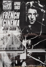 FRENCH POSTER JEAN GABIN