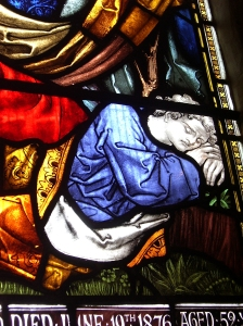 St.Mary's window detail